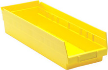 Plastic Shelf Bin - 20 Pack - 18 x 6 x 4 (VQSB104)