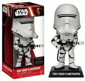 Star Wars Ep7 Bobble Head First Order Flametrooper figure Funko 62439