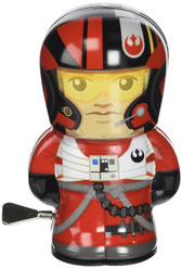 Star Wars BeBots Tin Wind-Up Poe Dameron figure Schylling 33236