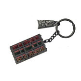 Back To The Future Time Control Machine Time Display Metal Keychain 83048
