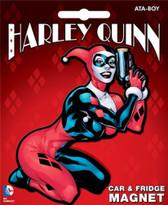 DC Comics Harley Quinn Car & Fridge Magnet Ata-Boy 10235