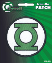 DC Comics Green Lantern Logo Iron-On Patch Ata-Boy 10267