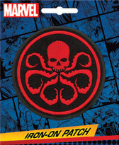 Marvel Comics Hydra Logo Iron-On Patch Ata-Boy 10021