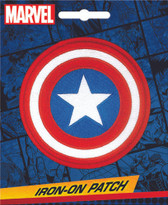 Marvel Comics Captain America Logo Iron-On Patch Ata-Boy 10045