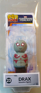 Guardians of the Galaxy Pin Mate Wooden Fig Wave 1 23 Drax 05239