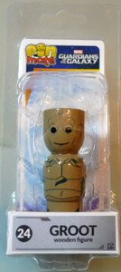 Guardians of the Galaxy Pin Mate Wooden Fig Wave 1 24 Groot 05376