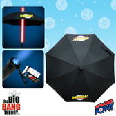 Big Bang Theory BAZINGA with Red Light Up Umbrella 016646