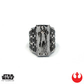 Han Cholo Star Wars Han Solo in Carbonite Ring Size 10