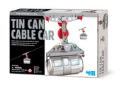 Green Science Tin Cable Car 4m 96438