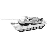 Metal Earth M1 Abrams Tank 3D Metal Model + Tweezer 12064