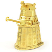 Metal Earth Doctor Who Gold Dalek 3D Metal Model + Tweezer 40012