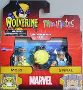 Wolverine Minimates Mojo & Spiral 2 pack Diamond figure 23682