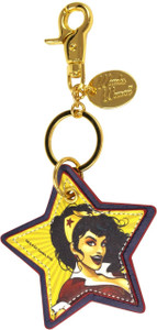 DC Comics Bombshells Wonder Woman Faux Leather Keychain Coop 28018