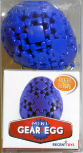 Mini Mefferts Keychain Mini Gear Egg Puzzle 05694