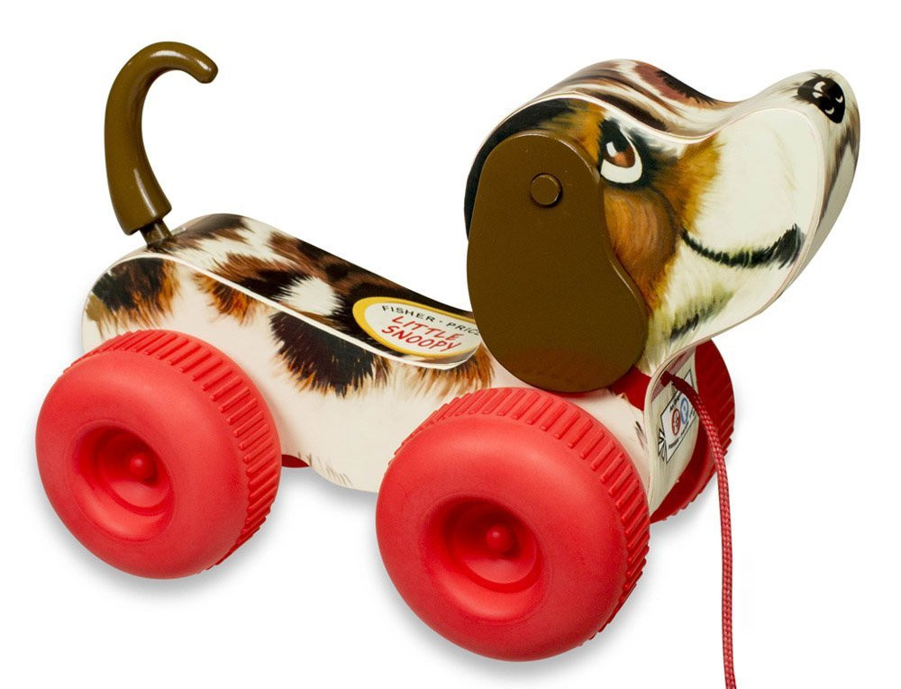Fisher Price Classic Toys Little Snoopy Pull Toy 016505 Toysheik