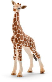 Schleich North America Giraffe Calf Toy Figure 14751