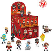 Funko Mystery Mini: Disney Incredibles 2 Display Box of 12 figures 91965