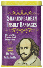 Shakespearean Insult Bandages Accoutrements 12389