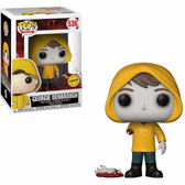 Pop Movies IT 536 Georgie Denbrough CHASE Funko Figure 95208