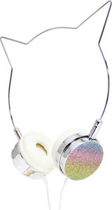 Glitter Rainbow Unicorn headphones American Jewel 84718