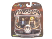 Mimimates Battlestar Galactica Doctor Gaius Baltar & Doc Cottle Diamond 0128