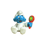 Smurfs Baby Smurf with rattle Schleich 05406