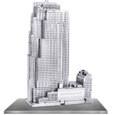 Metal Earth 30 Rockefeller Plaza 3D Metal  Model + Tweezer  010619