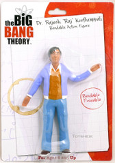 Big Bang Theory Bendable Raj figure by Wonderland 004046