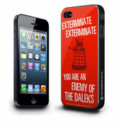 Doctor Who iPhone 5s 5c Case: You Are An Enemy of the Daleks 005271