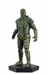 "Doctor Who 4"" No. 9 Ice Warrior figure Underground 013009"