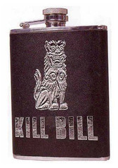 Kill Bill Embossed Flask Neca 334409