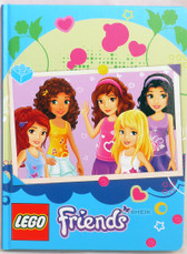 Lego Friends Journal in Blue Schylling 015449