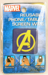 Marvel  Reusable Phone Tablet Screen Wipe Avengers Logo by Ata-Boy 300045