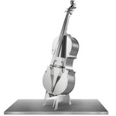 Metal Earth Bass Fiddle 3D Metal  Model + Tweezer  010817