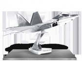 Metal Earth F-22 Raptor 3D Metal  Model + Tweezer  010503