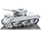 Metal Earth Sherman Tank 3D Metal  Model + Tweezer  012040