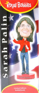 Royal Bobbles Sarah Palin bobblehead figure 010122