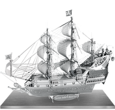ICONX Queen Anne's Revenge 3D Laser Cut Model Fascinations 013092