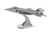 Metal Earth F-35 Lightning 2 3D Metal  Model + Tweezer  010657