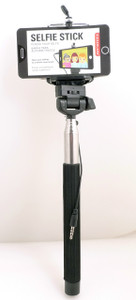 Selfie Stick Black by Kikkerland 073821