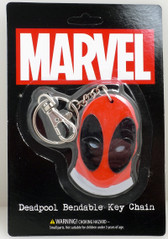 Marvel Bendable Deadpool Key Chain NJ Croce 546120