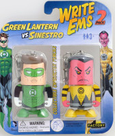 DC Write Ems 2 Pack Pencils - Green Lantern vs Sinestro by Factory 082072