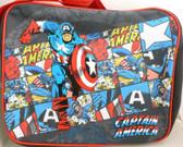 Marvel Comics Retro Captain America Messenger Bag by BB Design 913098