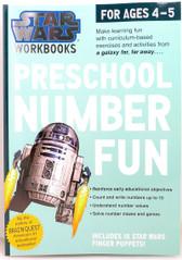 Star Wars Workbook Preschool Number Fun 17802
