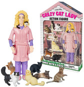 Accoutrements Crazy Cat Lady action figure 124705