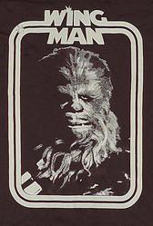 Star Wars T-Shirt Chewbacca as my Wing Man