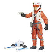 "Star Wars TFA 3 3/4"" X-Wing Pilot Asty figure Hasbro 71877"
