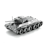 Metal Earth T-34 Tank 3D Metal  Model + Tweezers  12019