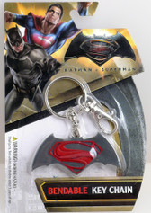 Batman vs. Superman: Dawn of Justice Logo Bendable Key Chain NJ Croce 39603
