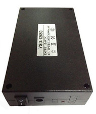 12V DC Rechargeable Li-ion Battery Pack for CCTV Camera 6500mAh Lithium-ion